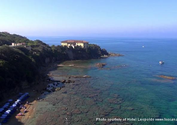 Castiglioncello beach