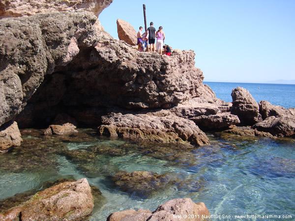 Immagini spiaggia delle rocchette