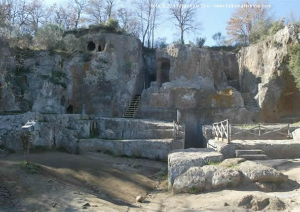 Necropoli Etrusca - Tomba Ildebranda
