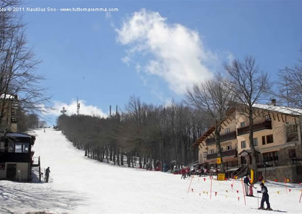 Summit of Mount Amiata