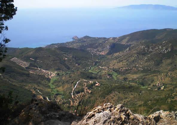 Argentario - Panorama da Punta Telegrafo