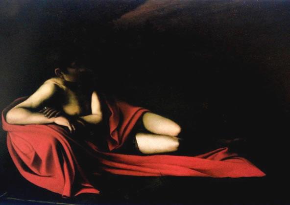 Caravaggio – Il San Giovanni disteso