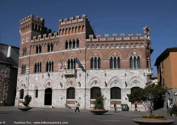 Palazzo Aldobrandeschi - Palazzo della Provincia