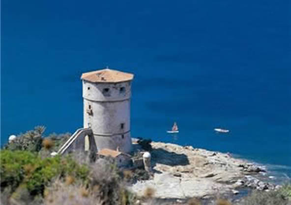 Giglio Island Torre del Campese