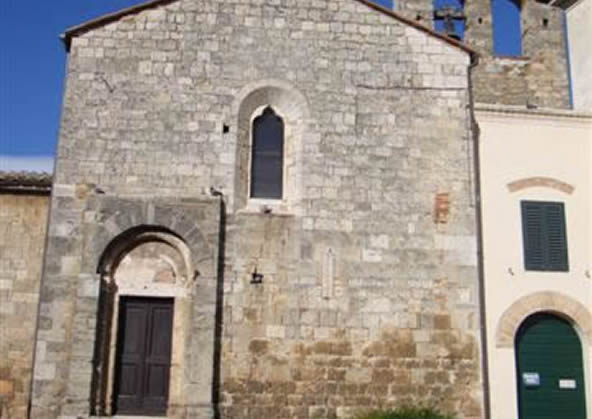 S. martino church - magliano