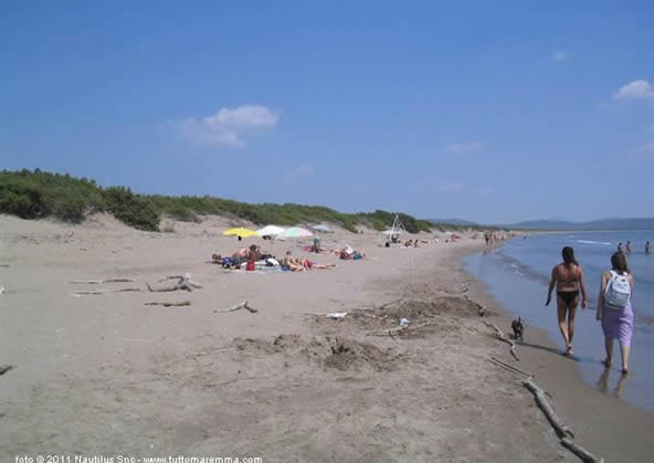 Orbetello - Spiaggia libera della Feniglia