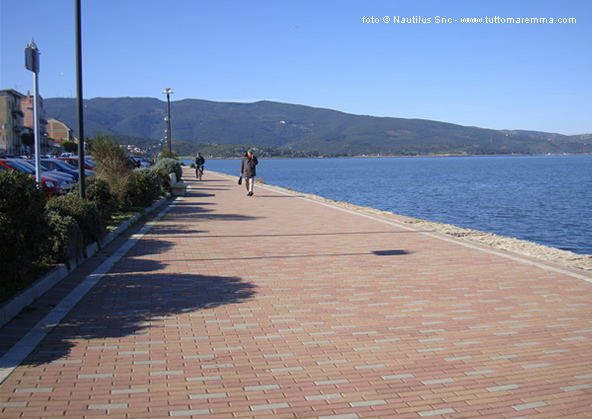 Orbetello - lungolago