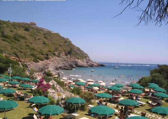 Porto Ercole - spiagga le viste