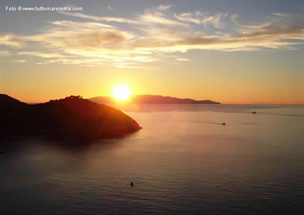 Cala Grande - tramonto