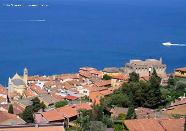 Porto Santo Stefano - panoramic view