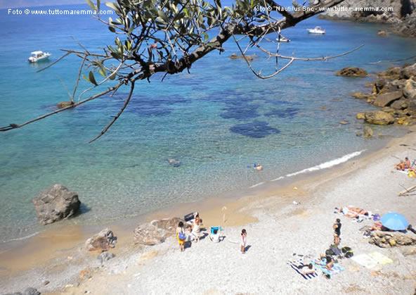 Cala del Gesso beach - Porto Santo Stefano