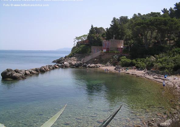 porto santo stefano spiaggia la Bionda