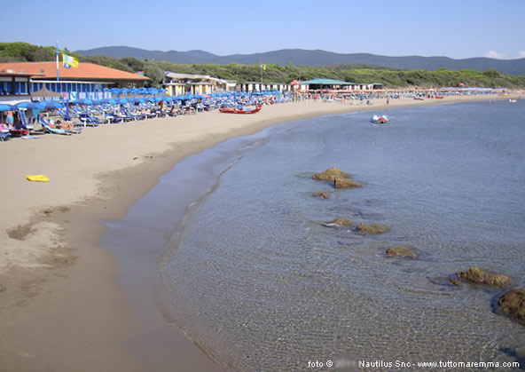 Spiaggia delle Rocchette