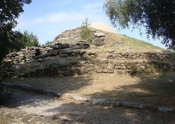 Vetulonia ancient etruscan city