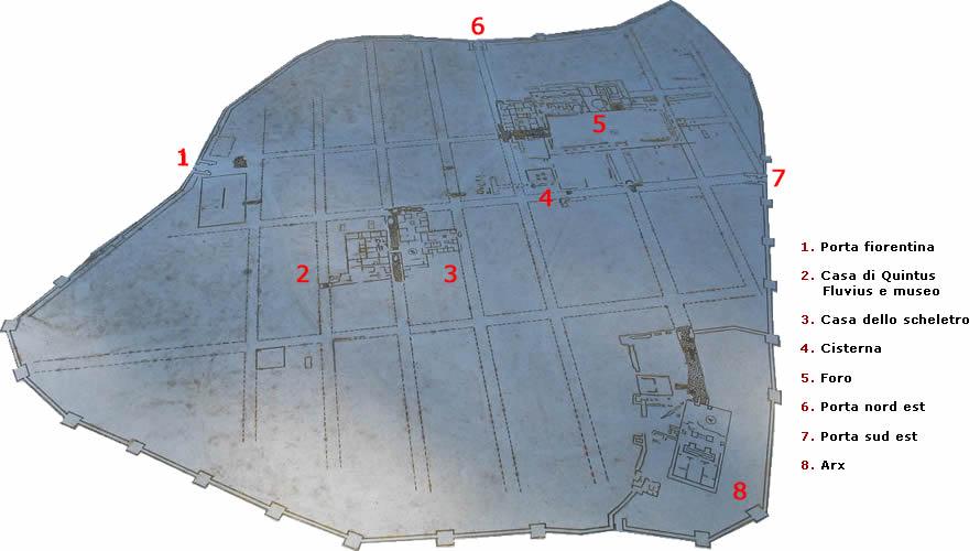 Cosa antica citt romana for Pianta della foresta di pioppo