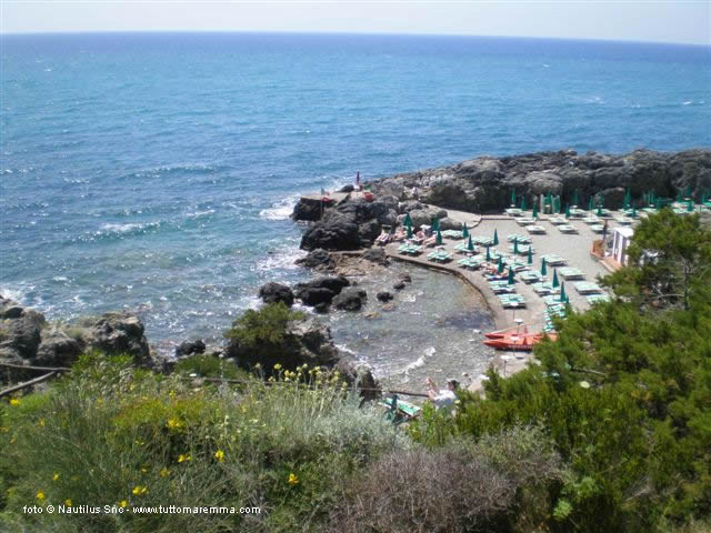 Talamone beaches