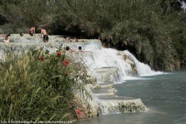 Terme di saturnia - Cascate in italia dove fare il bagno ...