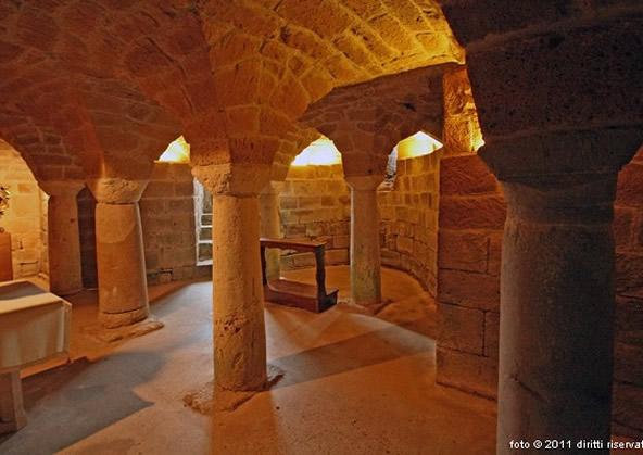 Cripta del Duomo di Sovana
