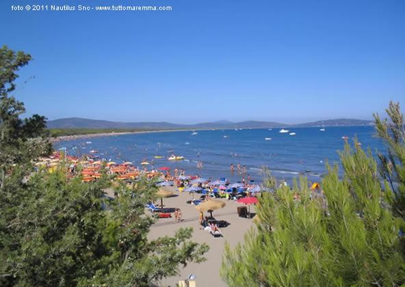 Argentario spiaggia Feniglia
