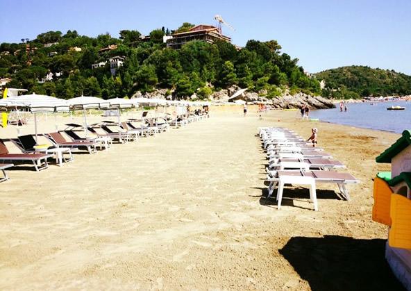 Cala Galera beach