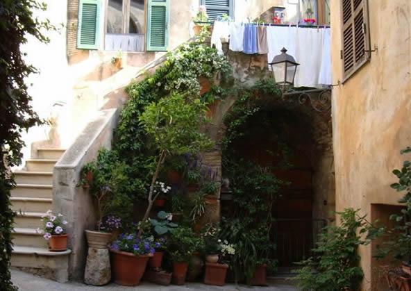 Capalbio - scorcio del borgo