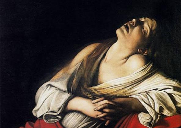 Caravaggio – La Maddalena in estasi
