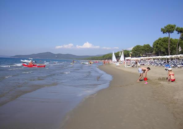 Punta Ala beach