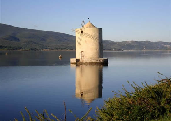 Orbetello - Ancient spanish watermill