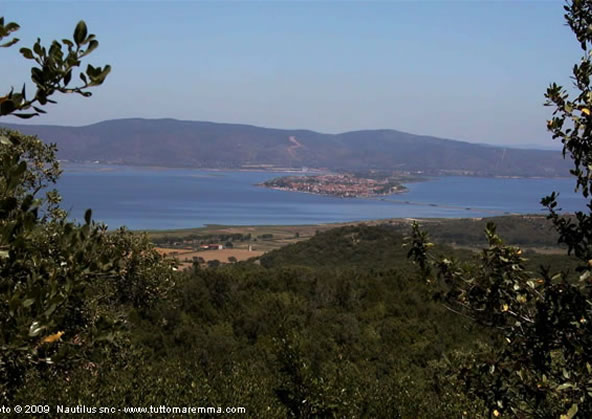 Landascape of Orbetello