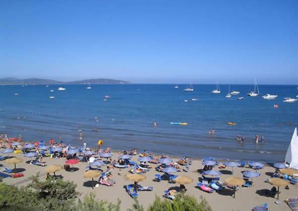 Feniglia beach