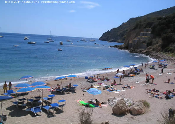 Porto Ercole - Spiaggia L'acqua dolce