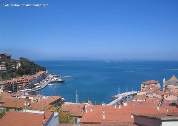Porto santo Stefano - vista dall'alto