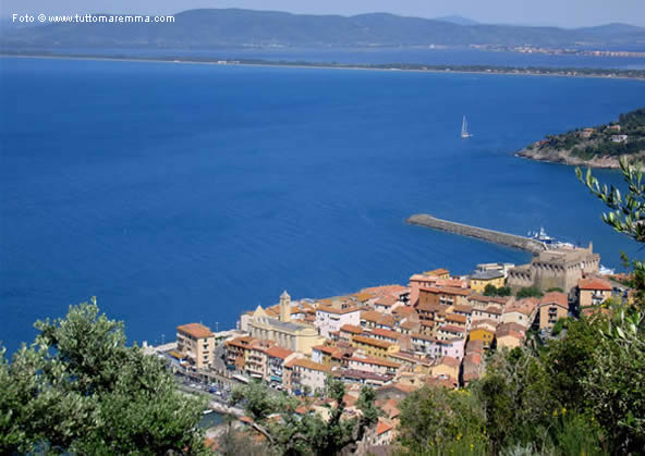 Porto Santo Stefano - Panoramic view