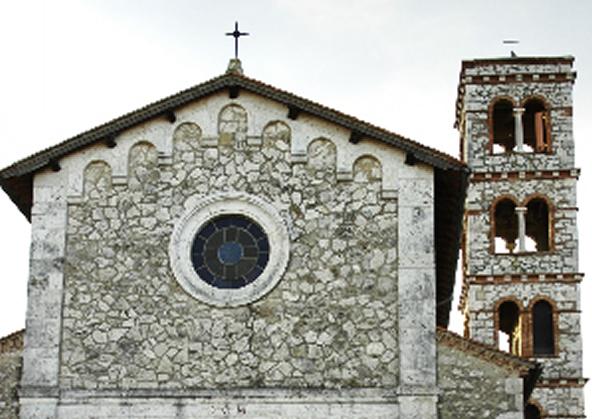 Saturnia - Santa Maria Maddalena's church