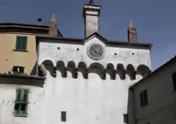 Scansano - Torre dell'Orologio