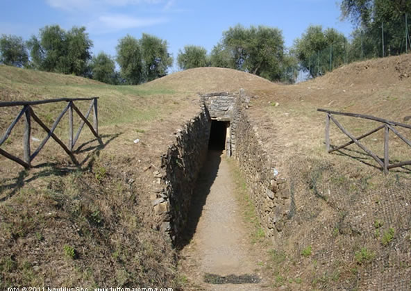 Tomba del Diavolino II - Vetulonia